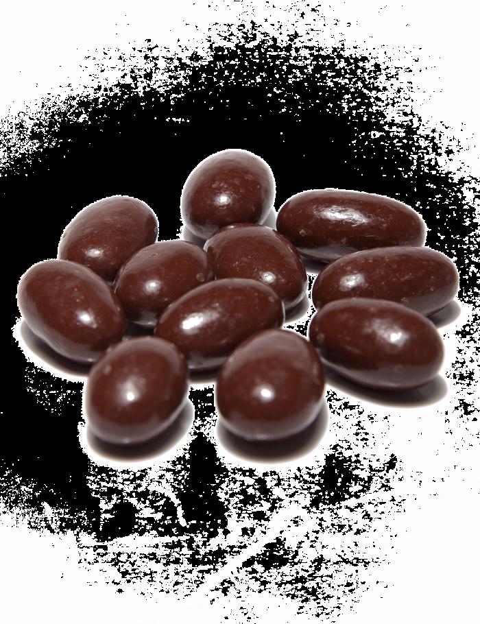étcsokoládés mandula